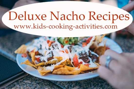deluxe nachos