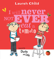 never eat a tomato book