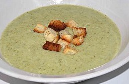 cream broccoli soup