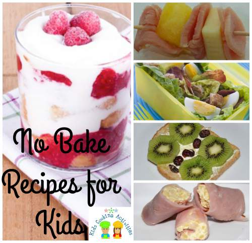 no bake collage