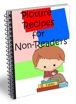 non reader recipes book