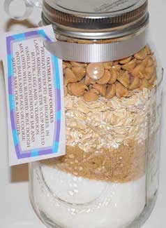 oatmeal chip jar mixes