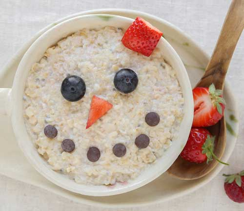 oats smiley face