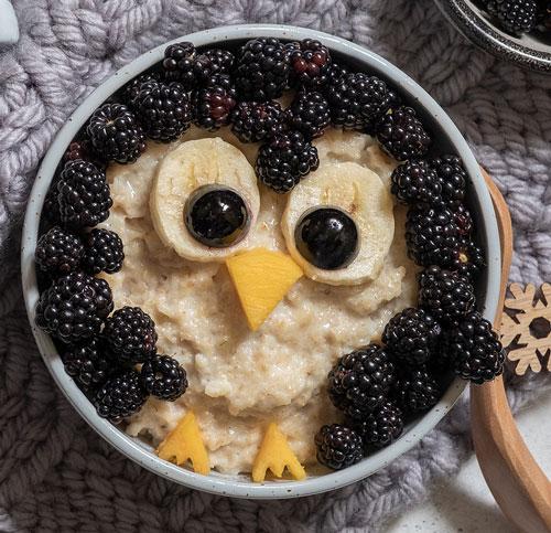 oatmeal penguin