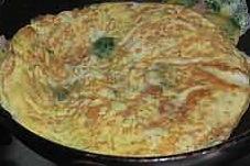 finished omelet