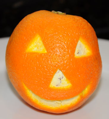 orange jack o langern