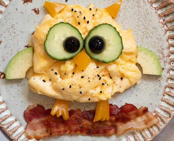 owl omelet