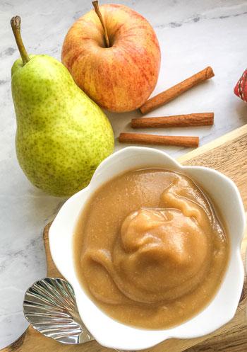 pear applesauce