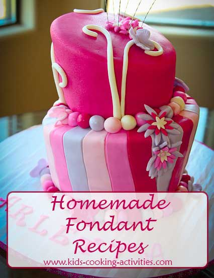 homemade fondant recipes