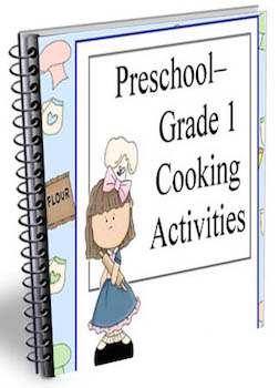 prek grade 1 cooking camp