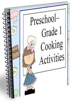 prek grade 1 cooking camp