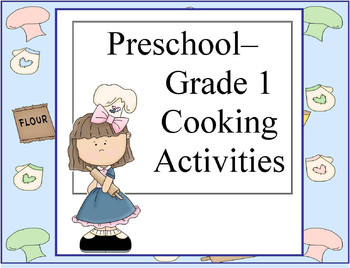 Preschool cooking recipes for halloween