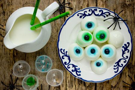 pudding eye balls