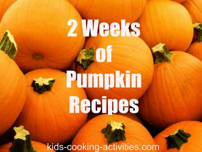 pumpkin recipes to try for 2 weeks