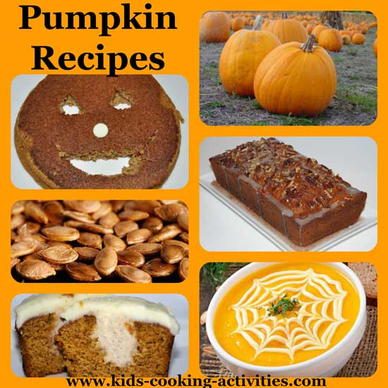pumpkin recipes ideas and activities for kids seasonal
