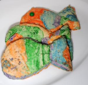 rainbow fish cookie