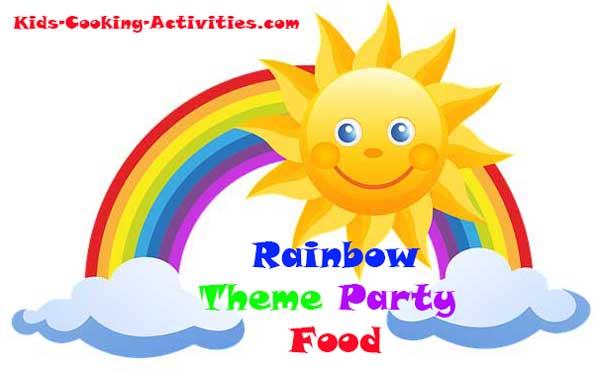 Rainbow Theme Dinner For Kids