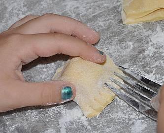 ravioli making