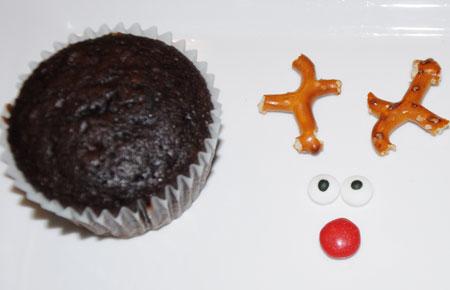 cupcake reindeer