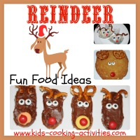 reindeer theme food