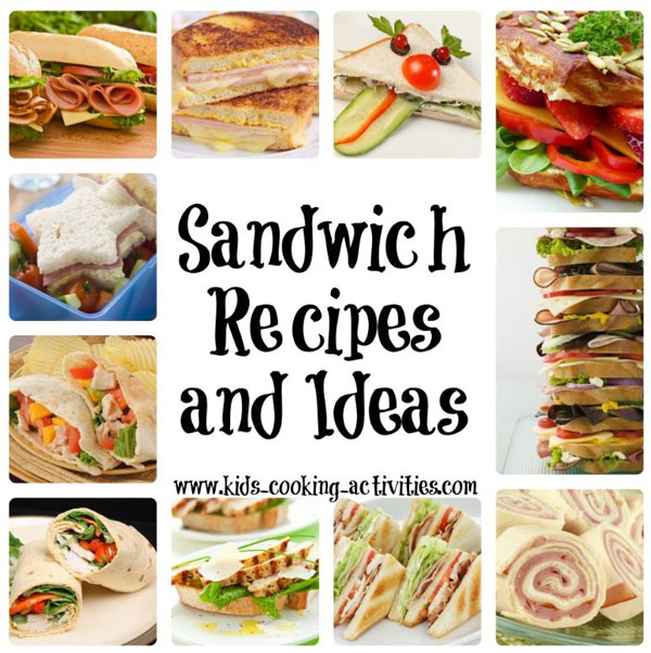 Kids Sandwich Ideas