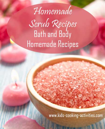 Homemade Scrub Recipes