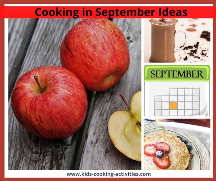 september cooking activities