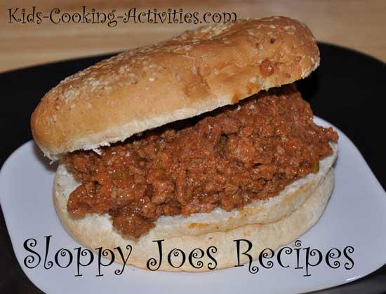 sloppy joe recipes