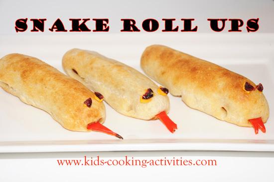 snake roll up