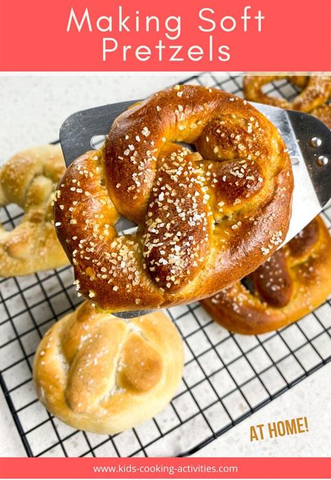 pretzel bath