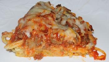 spaghetti slice