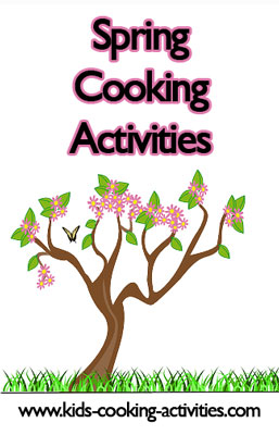 spring cooking activities
