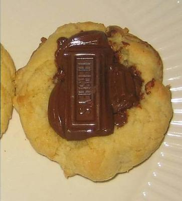 cookies with chocolate bar