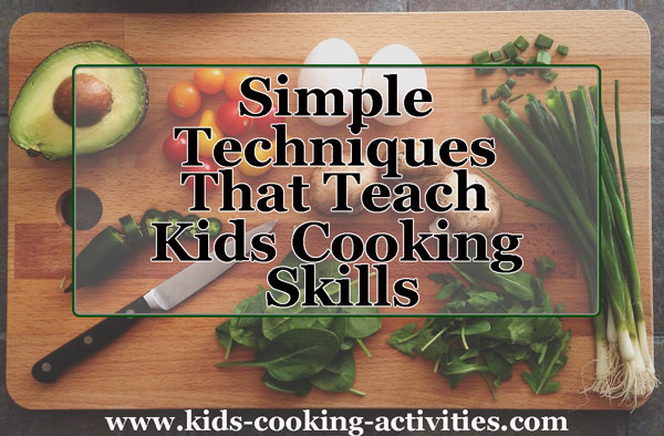teach cooking skills