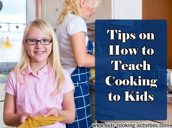 cooking kids tips