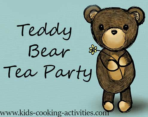 teddy bear party food ideas