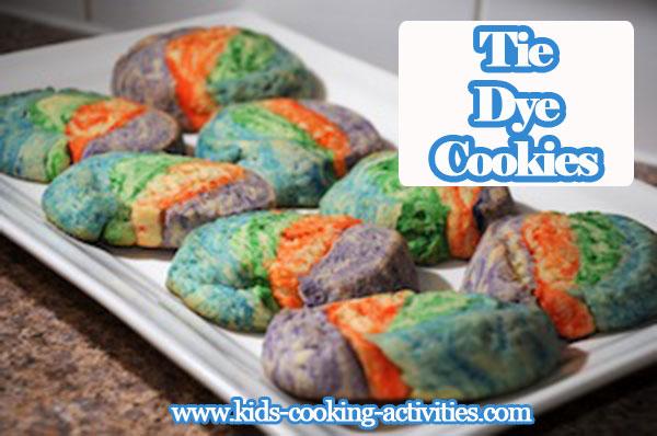 tie dye cooking
