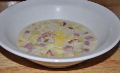 ham corn chowder