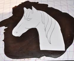 horse fondant