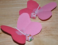 lollipop butterfly