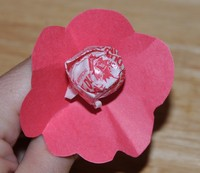 lollipop flower valentine