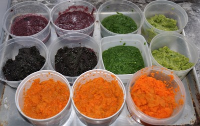 puree vegetables