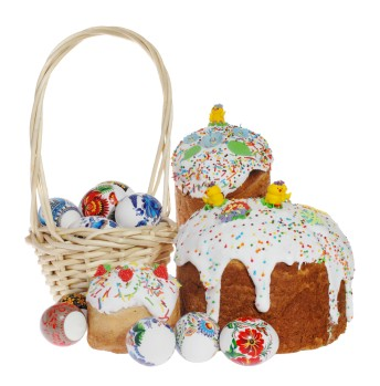 Russian and Eastern European Easter Bread