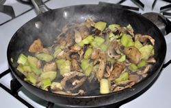 saute zucchini