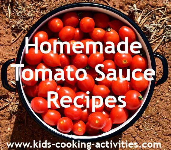 homemade tomato sauce recipes