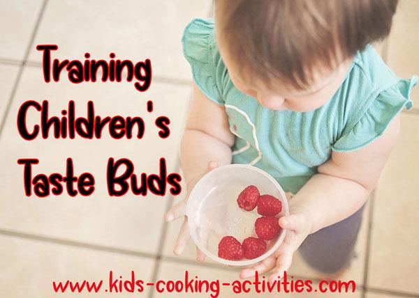 training taste buds