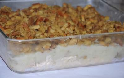 turkey mashed potato casserole