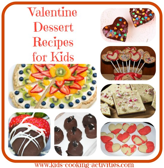 Kids cooking activities blog for Valentine dinner recipes kids