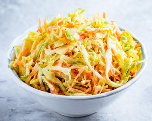 shredded salad