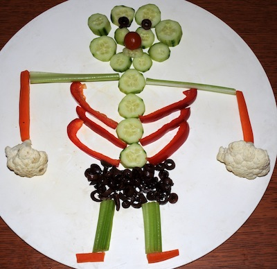 veggie skeleton